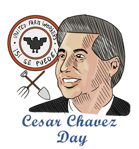 2-Cesar Chavez Day Wishes