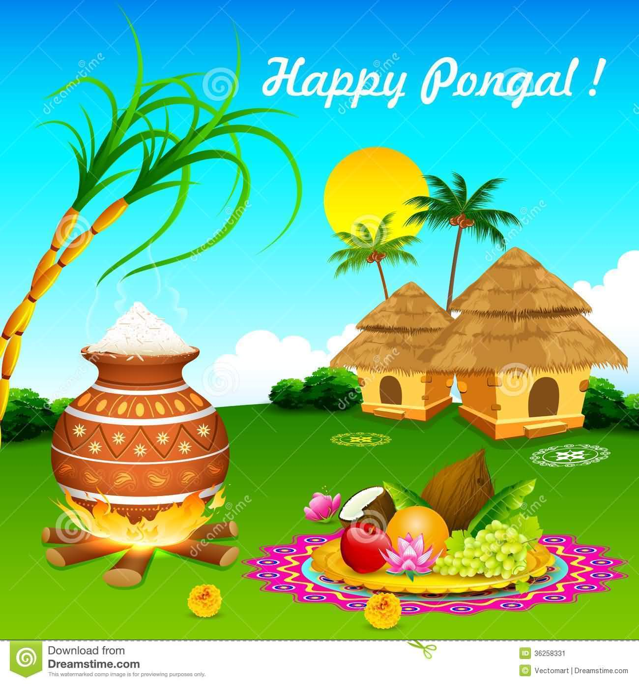 2-Happy Pongal Wishes