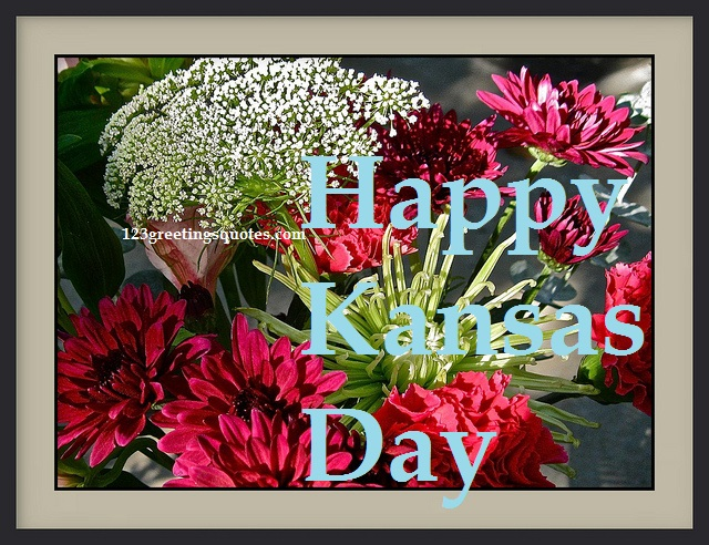 3-Happy Kansas Day Wishes