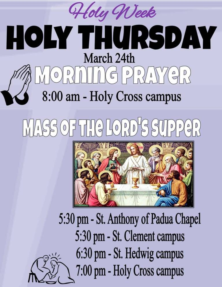 3-Holy Thursday Wishes