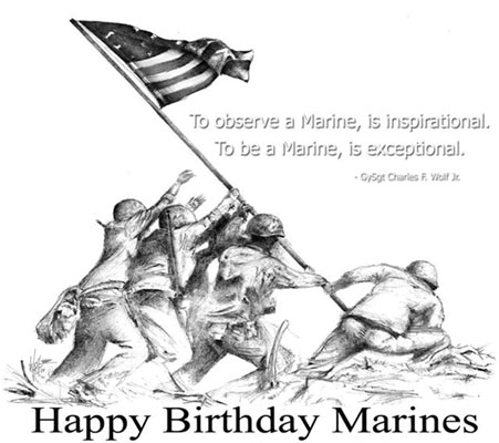 34-Marine Corps Birthday Wishes
