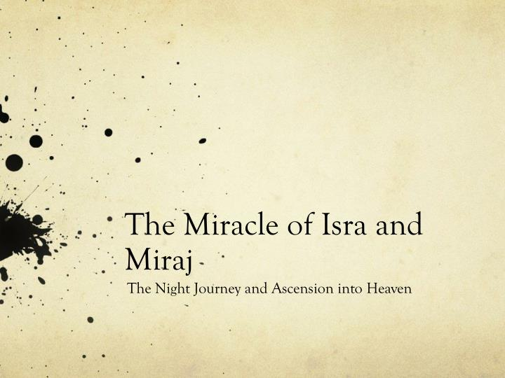 40-Isra and Mi'raj Wishes