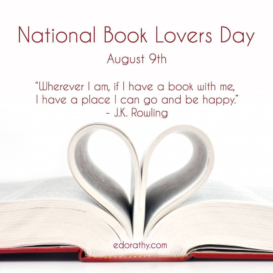 46-Book Lovers Day Wishes