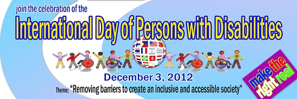 5-World Disabled Day Disability