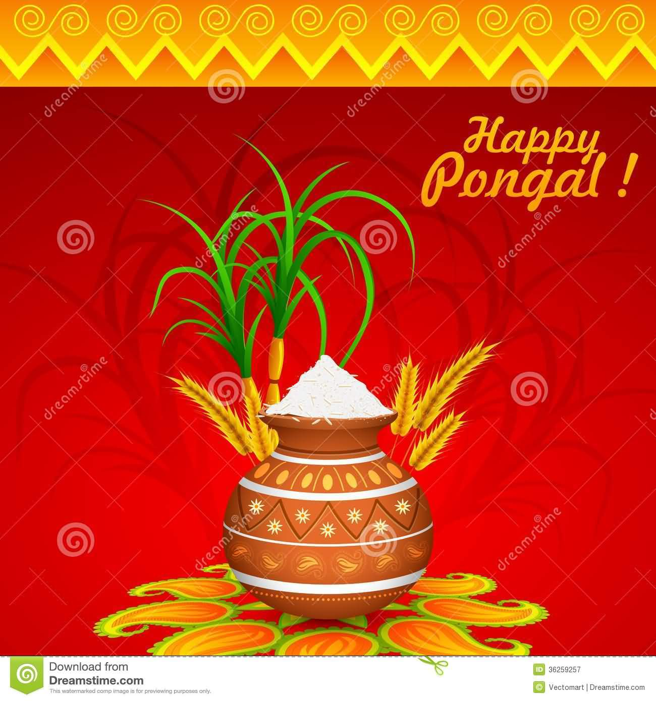 6-Happy Pongal Wishes