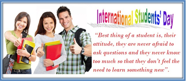 7-International Students Day Wishes