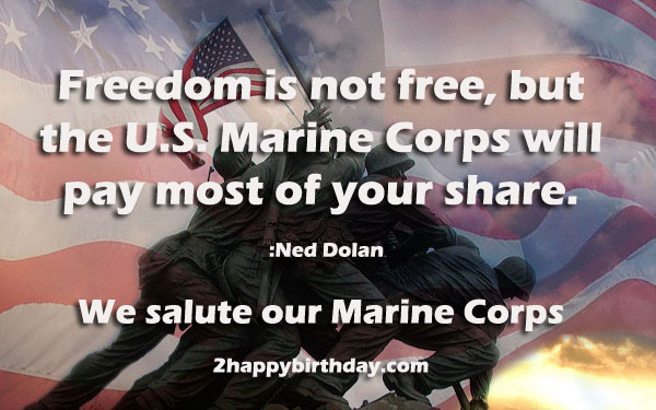 Marine Corps Birthday Wishes, Greetings, Messages, Cards ...
