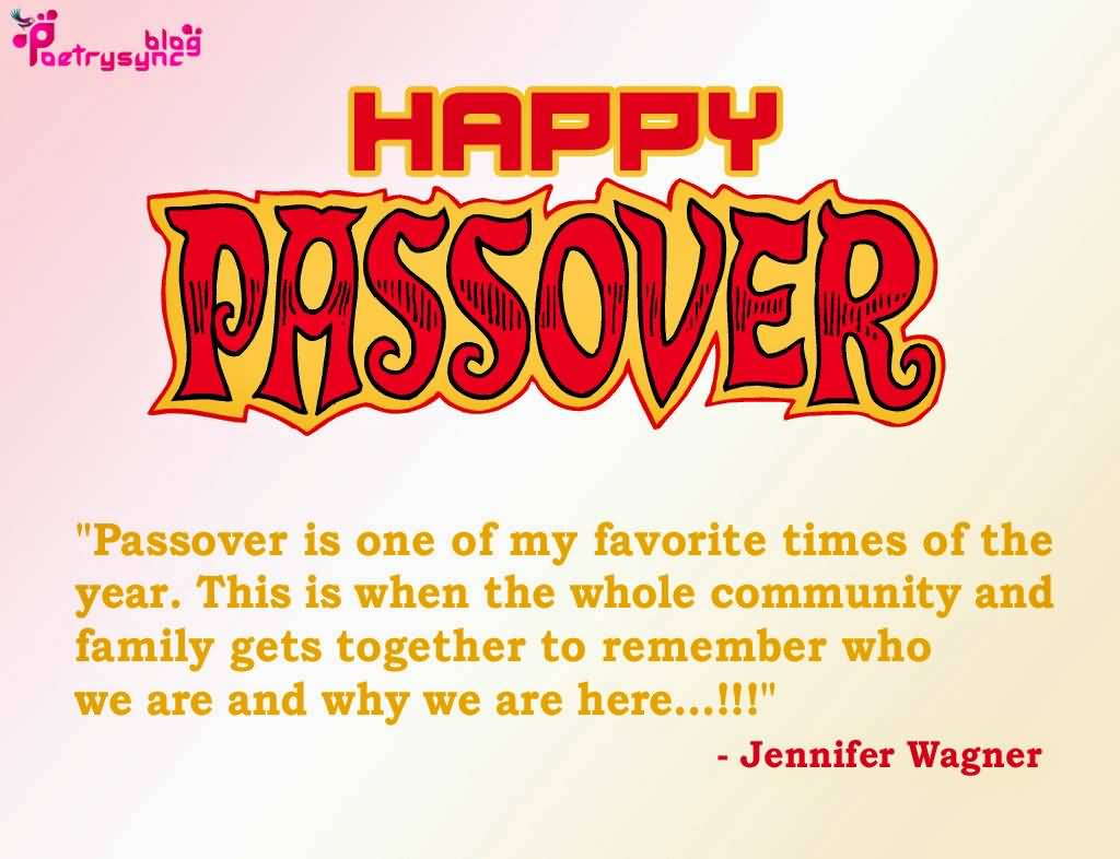 78-Happy Passover Wishes