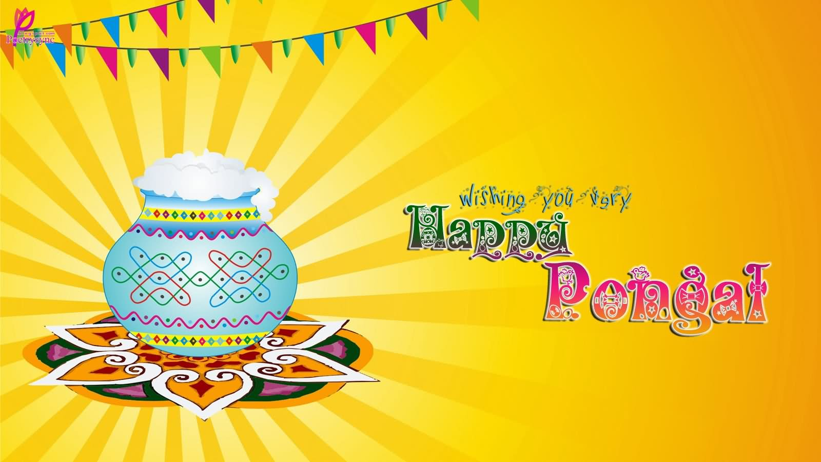 8-Happy Pongal Wishes