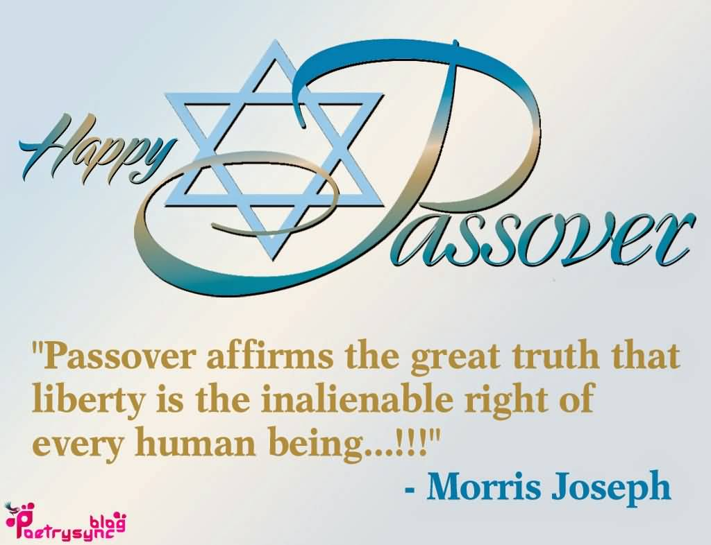 97-Happy Passover Wishes