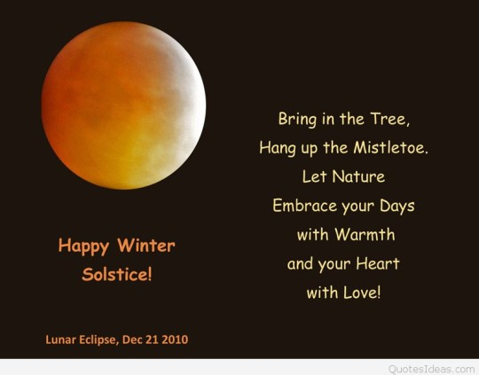 21-Winter Solstice Wishes