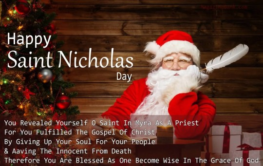 3-Happy Saint Nicholas Day Wishes