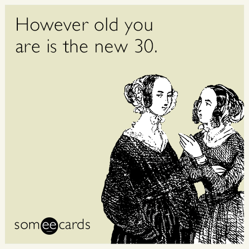 30th Birthday Ecard Greetings