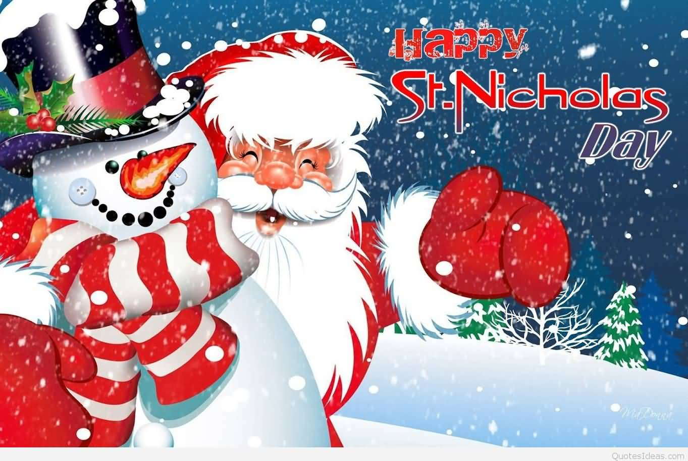 Image result for Wishing you a happy st. nicholas day