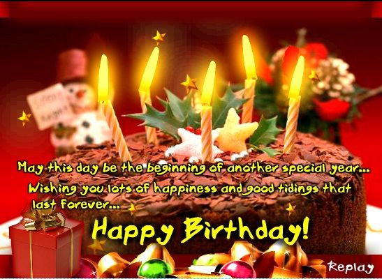 Happy Birthday Wishes Have A Great Day Image Nice Wishes