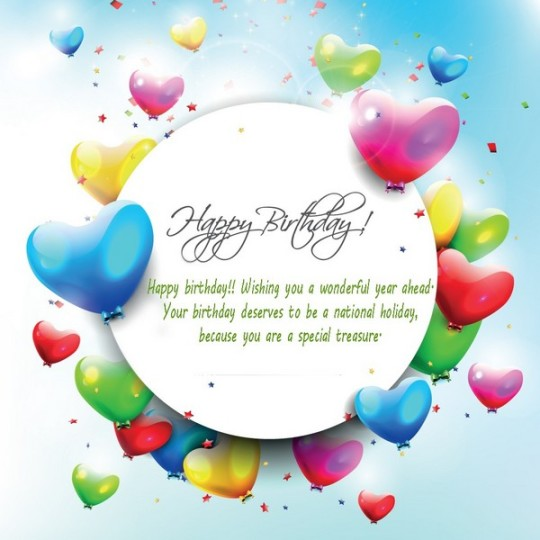 Beautiful Birthday Wishes For Special Treasure