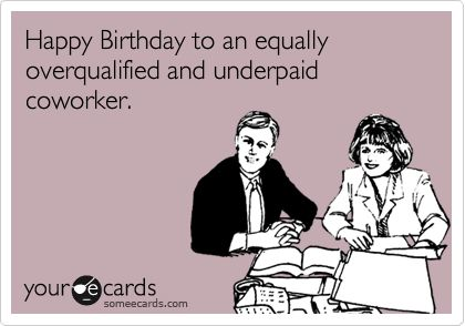 Best Colleague Birthday Ecard