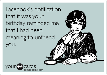 Birthday Ecard For Facebook
