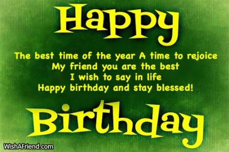Blessed Birthday Sayings And Quotes
