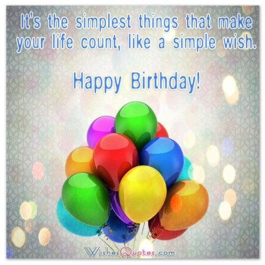 Colorful Birthday Sayings
