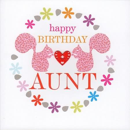 Cute Aunt Birthday Wishes