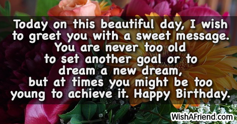 Dream Birthday Sayings