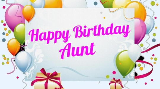 Fabulous Aunt Birthday Wishes