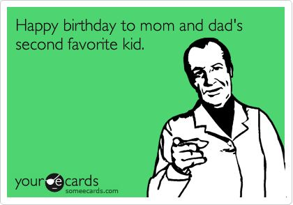 Father And Mom Birthday Ecard