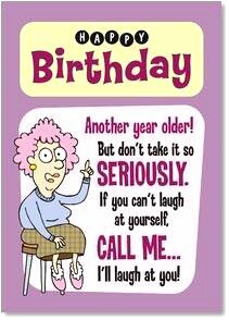 Funny Aunt Birthday Wishes