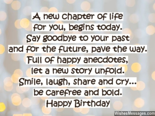 Future Birthday Sayings