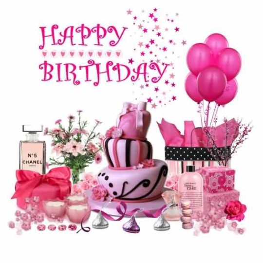 Girl Fashion Birthday Greetings