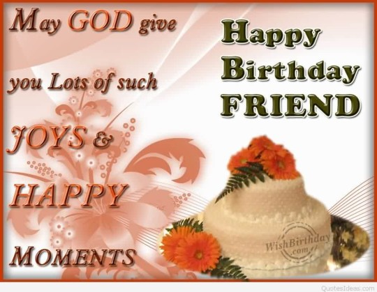God Bless Birthday Greetings