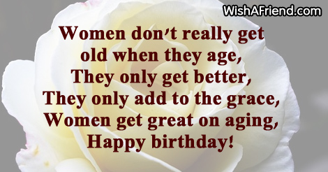 Great Women Birthday Sayings