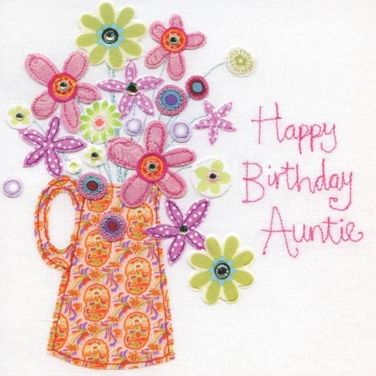 Handmade Aunt Birthday Wishes