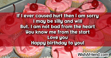 Love You Birthday Sayings