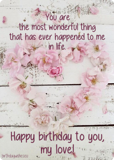 Lovable Birthday Quotes