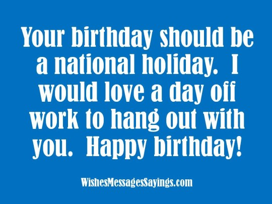Lovable Birthday Sayings