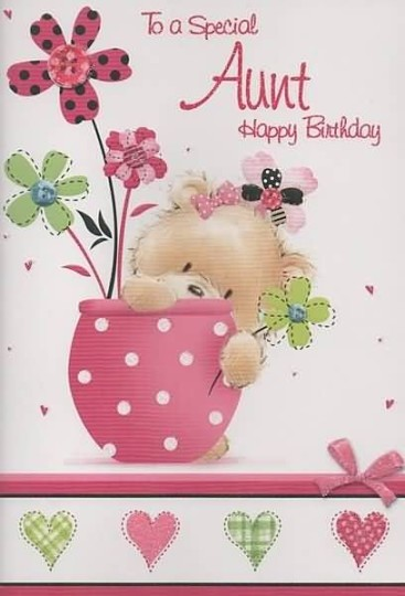Loving Aunt Birthday Wishes E Card