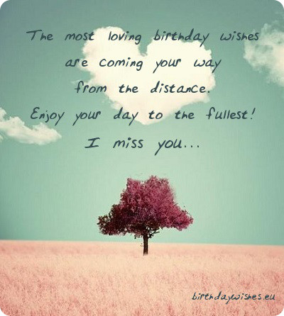 Miss Birthday Quotes