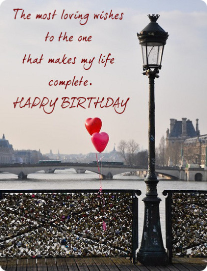 Most Loving Birthday Quotes