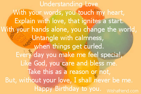 Special Day Birthday Poem
