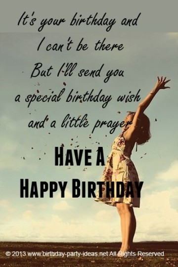 Special Girl Birthday Saying