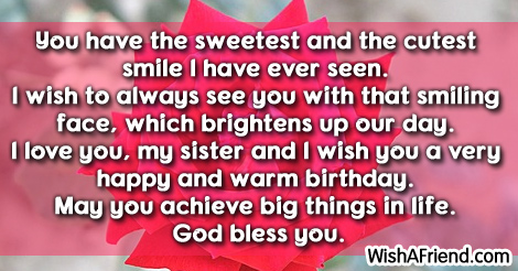 Warm Birthday Sayings And Quotes