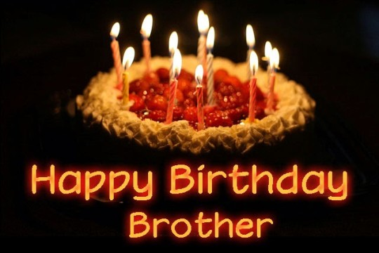 Wonderful Birthday Cake Wishes To Brother