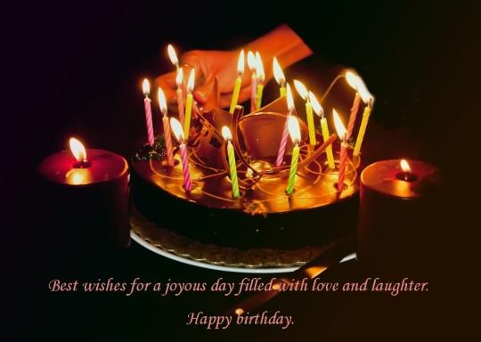 Wonderful Quotes Birthday Cake Wishes