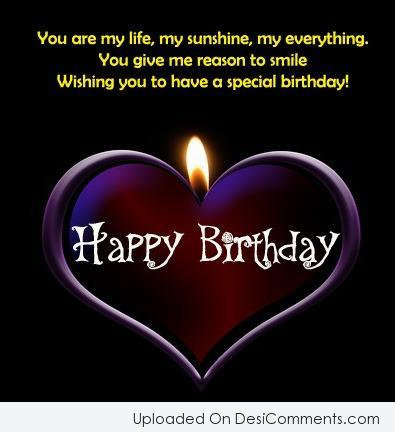 Amazing Heart Birthday Greetings