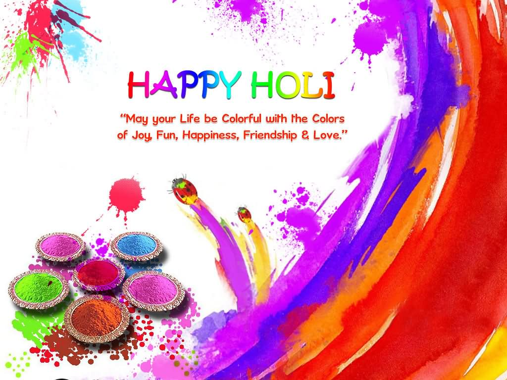 Amazing Holi Wish