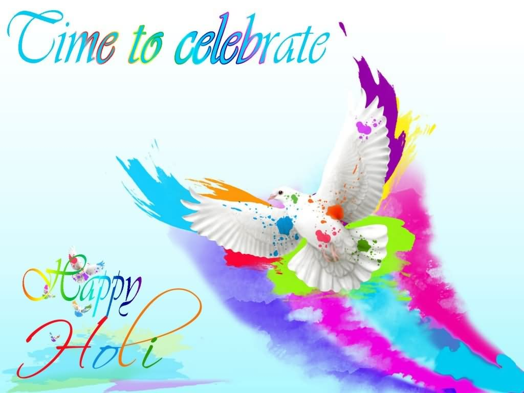 Attractive Happy Holi