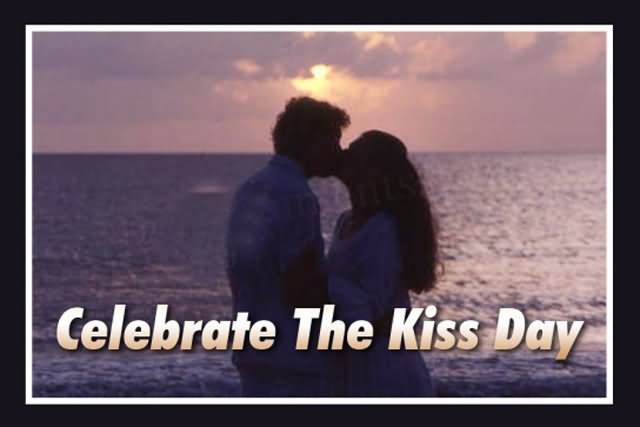 Attractive Kiss Day Image