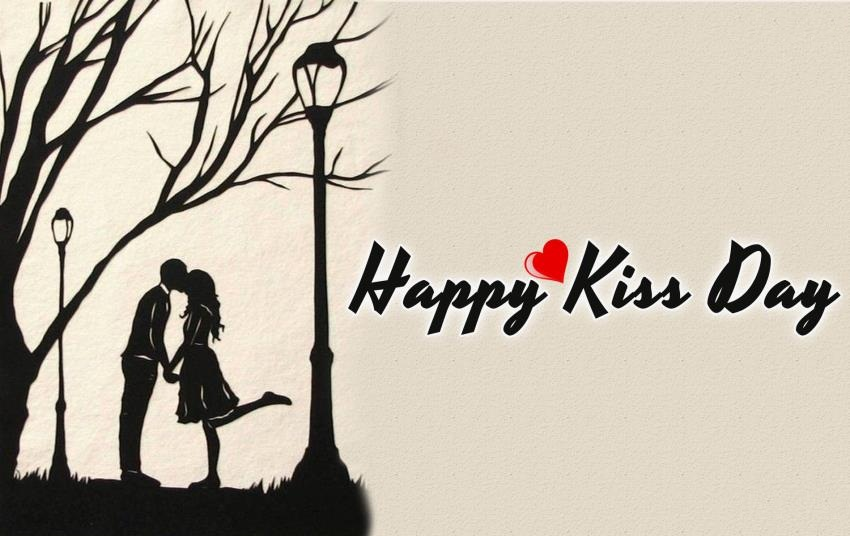 Attractive Kiss Day Wishes